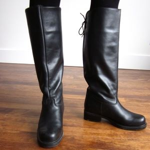 NWOT Black Winter Boots (From Browns)